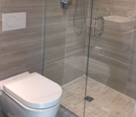 180 In-Line U Channel Shower